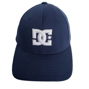 Other - Navy & White DC Flexfit Ball Cap Youth